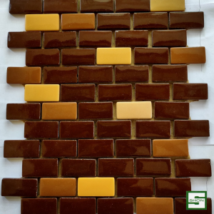 Staggered Brick 2×1 Glass